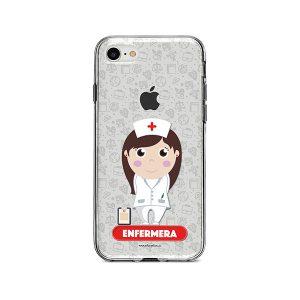 Funda para celular con diseño de enfermera