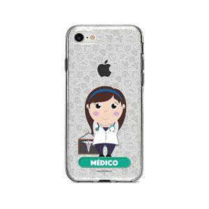 Funda para celular con diseño de médica