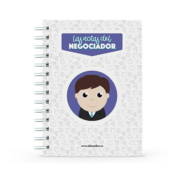 Cuaderno pequeño con diseño de negocios